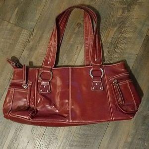 Red purse/bag